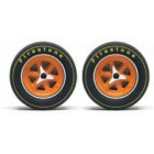 Slot.it PA46 Wheel inserts for hubs Ø 15,8 mm Ford GT40 x4