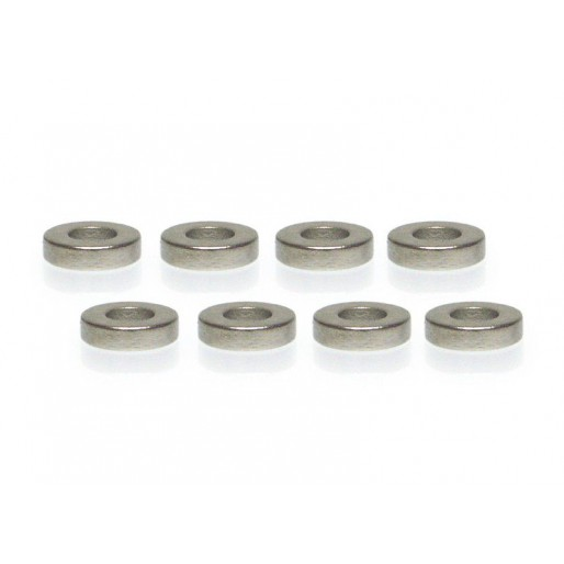 Slot.it CN10 Neodimium Magnet for magnetic suspension kit Ø6x1,5mm x8