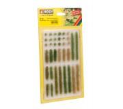 "NOCH 07125 Grass Strips ""light and dark green"""