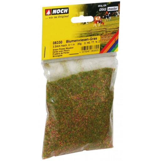 NOCH 8330 Herbe avec Fleurs, 2,5 mm