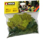 NOCH 08621 Lichen, Green Mix, assorted