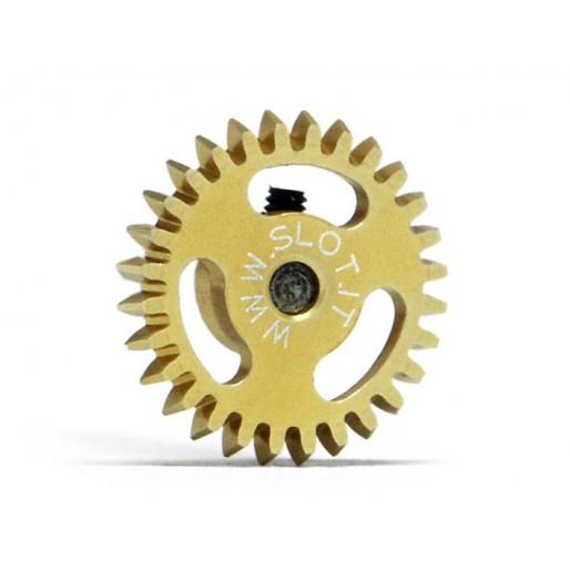 Slot.it GA1628e Couronne 28 dents Ø16mm pour moteur transversal incliné