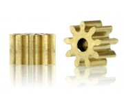 Slot.it PI559o15 Pinions 9 teeth Ø5,5mm - internal Ø1,5mm x2