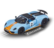 "Carrera Evolution 27549 Porsche 918 Spyder ""Gulf Racing No.02"""