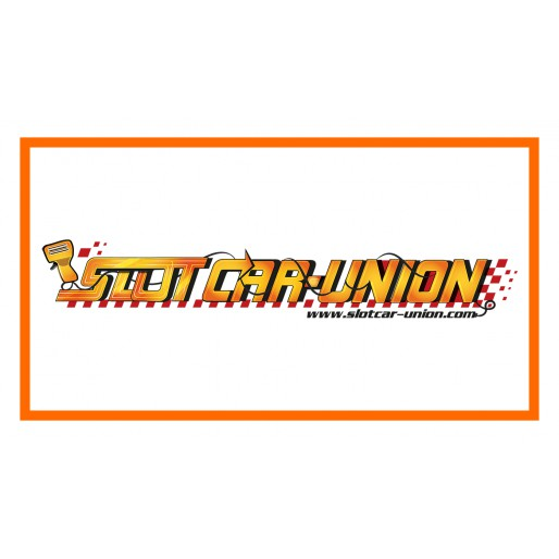 Slot Car-Union Sticker