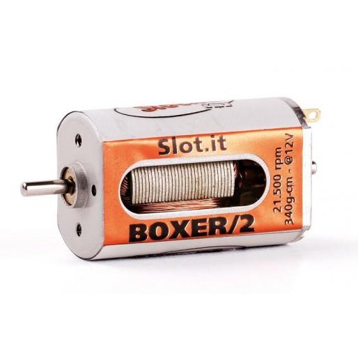Slot.it MN08ch Boxer/2 21500 rpm 340g*cm ouverture cage différente