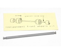 Slot.it PA39 Independent Front Wheels Axle