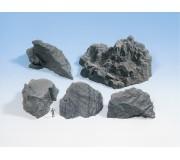 """NOCH 58451 Pièces de rochers """" Granit """""""