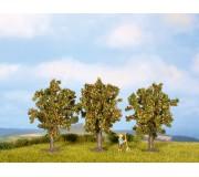 NOCH 25113 Apple Trees, 3 pieces, 8 cm high