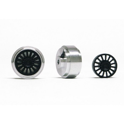 Slot.it PA43-Als Hubs Aluminum Ø16,5 x 8,2mm + inserts OZ type x2
