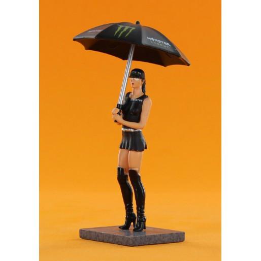 Sideways SWFIG/012 Figure Monster Energy + Umbrella