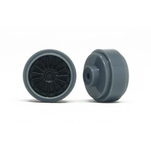 Slot.it PA43-Pl Hubs Plastic Grey Ø16,5 x 8,2mm + inserts OZ type x4