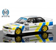 Scalextric C3829A 60th Anniversary Collection - 1990s, BMW E30 M3 Limited Edition