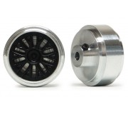 Slot.it PA18-Als Hubs Aluminum Ø17,3 x 8,2mm + inserts BBS type x2