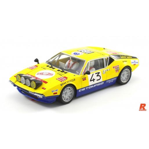 Scaleauto SC-6084R De Tomaso Pantera Gr.3 Rally Montecarlo 1976 n.43 Pittoni -R- Anglewinder