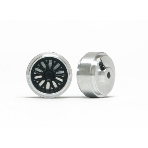 Slot.it PA38-Als Hubs Aluminum Ø17,3 x 8,2mm + inserts BBS type x2
