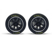 Slot.it PA60 Enjoliveur pour jantes Ø17,3mm type BBS 911 GT1 x4