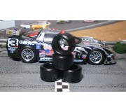 Paul Gage XPG-20126LM Urethane Tires 20x12x6mm x2