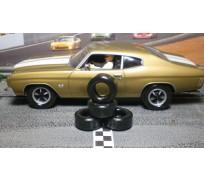 Paul Gage XPG-21093XXD Urethane Tires 21x9x3mm x2
