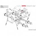 Carrera RC Profi Engrenage principal + Pignon pour Copper Maxx / Red Fibre, Carrera Profi RC (183001, 183002)