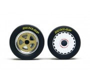 Slot.it PA44 Wheel inserts for hubs Ø15,8 mm Mazda 787B type (x2+2)
