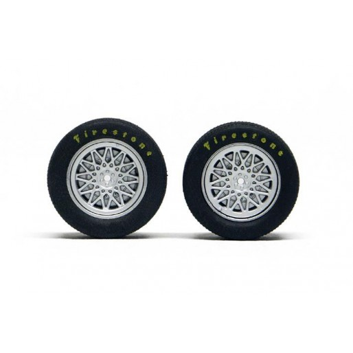 Slot.it PA45 Wheel inserts for hubs Ø15,8 mm Chaparral 2E type x4