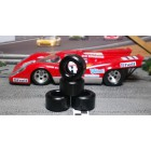 Paul Gage XPG-21125 Urethane Tires 21x12x5mm x2