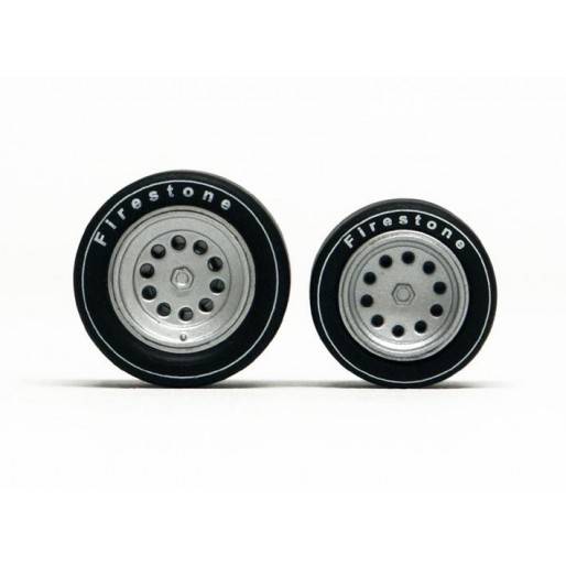 Slot.it PA41 Wheel inserts for hubs Ø14,3mm and Ø15,8mm Alfa Romeo type x2