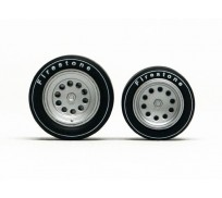 Slot.it PA41 Wheel inserts for hubs Ø14,3mm and Ø15,8mm Alfa Romeo type x2