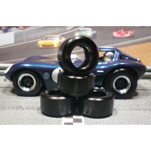Paul Gage XPG-24125XXD Urethane Tires 24x12x5mm x2