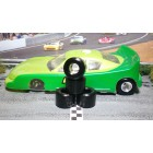Paul Gage XPG-22160.395 Urethane Tires 22x16x0mm x2