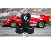 Paul Gage XPG-CAR-124-28169 Urethane Tires 28x16x9mm x2