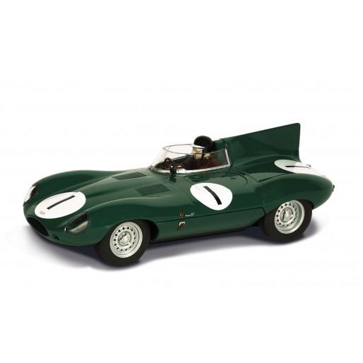 Scalextric C3486 Jaguar D-Type, Dundrod 1955