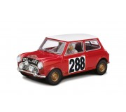 Scalextric C3485 Mini Copper Classic, Monte Carlo Rally 1963