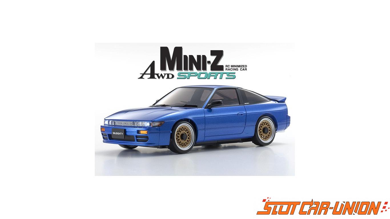 Kyosho Mini-Z MA020 Sports 4WD NISSAN SILEIGHTY (KT19) BLUE (w/LED
