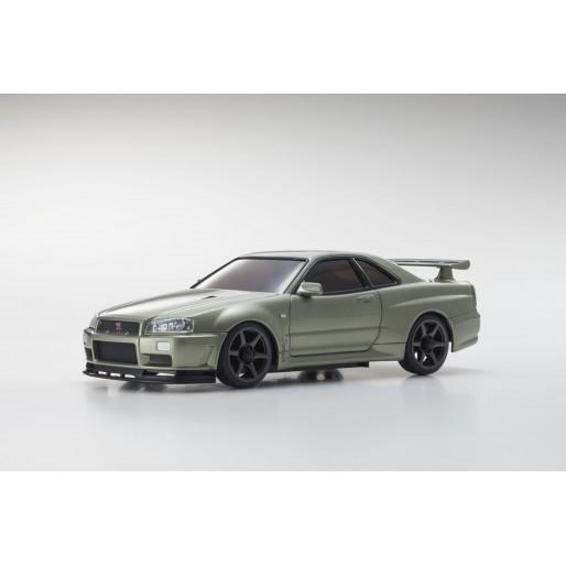 Kyosho MINIZ MA020 SPORTS 4WD NISSAN SKYLINE GTR R34 (KT19) V.SPEC NUR
