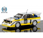 Scalextric C3828A 60th Anniversary Collection - 1980s, Audi Sport quattro S1 E2 Limited Edition