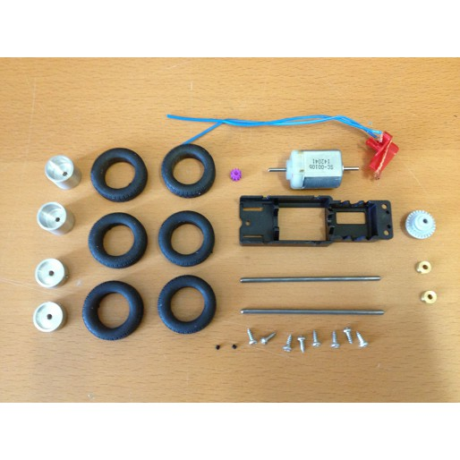 Proto Slot-Kit SET-TRANS1 Accessoires mécanique + roues