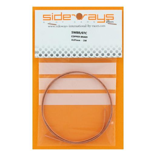 Sideways SWBR/07C Copper Braid 0.07mm Soft - 1 Meter