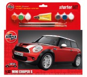 Airfix A50125 MINI Cooper S Set de Démarrage 1:32