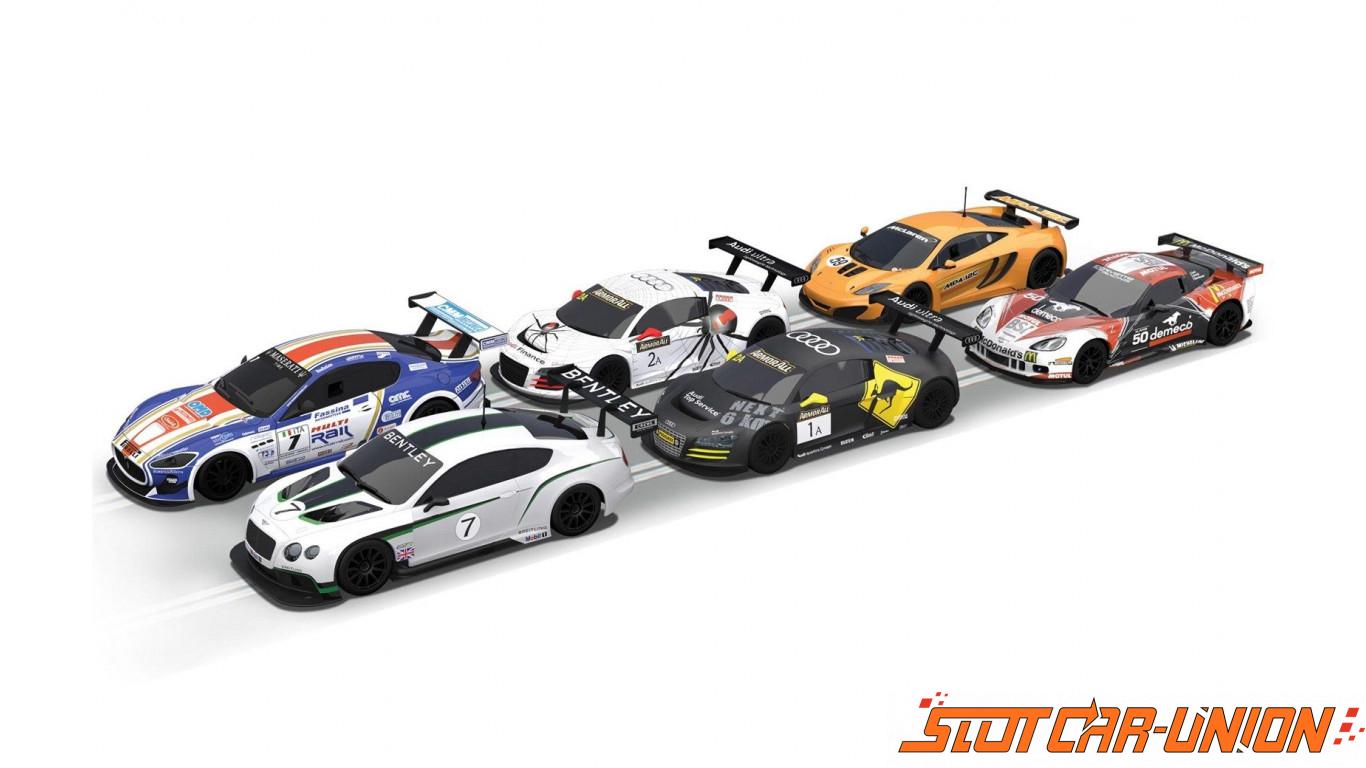 Scalextric Digital C1328 Carbon Set Slot Car Union