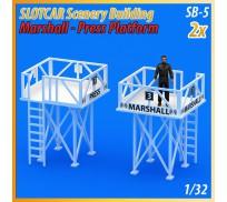 MHS Model SB-5 Plate-forme Marshall - Presse x2