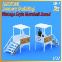 MHS Model SB-7 Vintage Style Marshall Stand x2