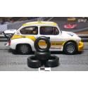 Paul Gage XPG-20084 Urethane Tires 20x8x4mm x2