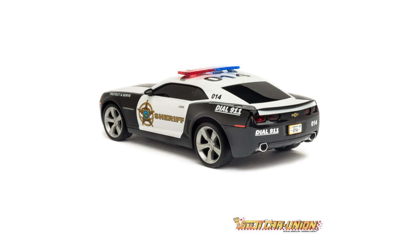 carrera evolution 27523 chevrolet camaro sheriff slot. Black Bedroom Furniture Sets. Home Design Ideas
