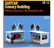 MHS Model SB-13 Sponsor Officiel & Hutte Marchandise