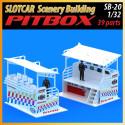MHS Model SB-20 Pitbox Equipe de Course