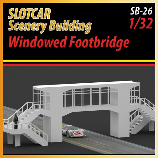 MHS Model SB-26 Windowed Footbridge