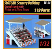 MHS Model SB-28 Grandstand with Ticket & Shop Stand