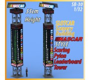 MHS Model SB-30 Scoring Pylon & Leaderboard Tower Nascar Style